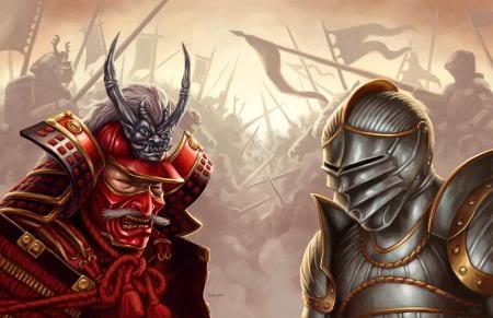 Samurai and knights similarities essay