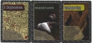 Zombie Cinema cards