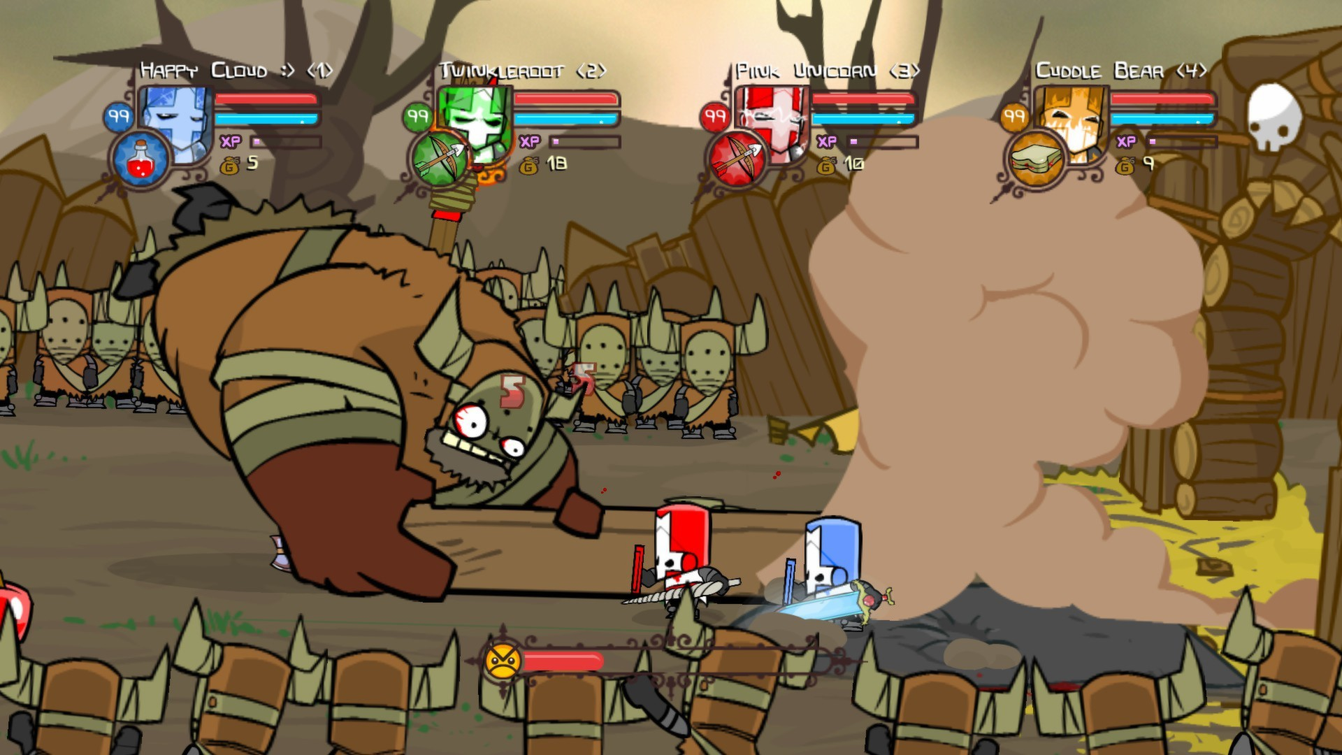 Castle Crashers Игру